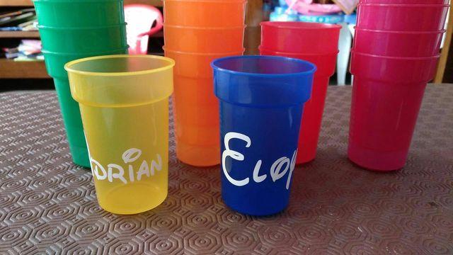 Vasos personalizados de segunda mano por 1 5 en coslada en wallapop - Vasos personalizados ...