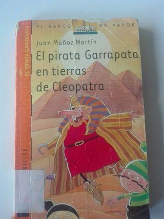 libro El pirata Garrapata en tierras de Cleopatra
