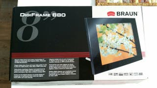Marco de fotos digital Braun