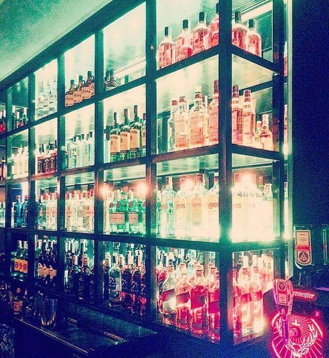 Estanteria de hierro bar o restaurante de segunda mano - Estanterias para bares ...
