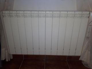 radiadores luz calor azul