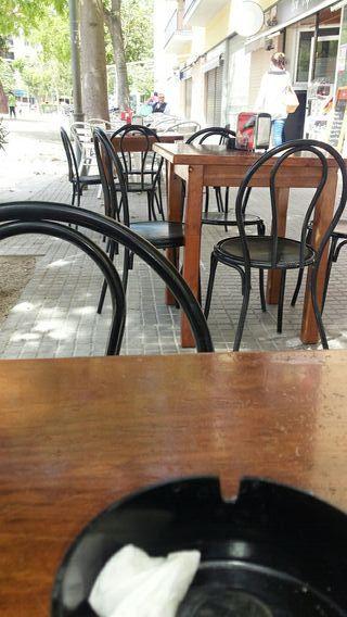 traspaso cafeteria bar