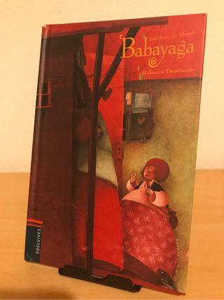 Libro Babayaga de Dautremer. Bolsillo