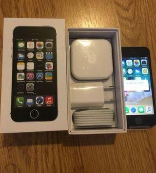 Iphone 5s Libre Con Caja Y Accesorios