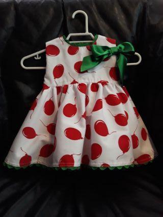 vestido artesanal 2-3 años