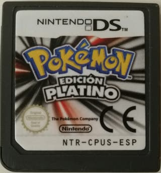 Juego DS - Pokemon Platino