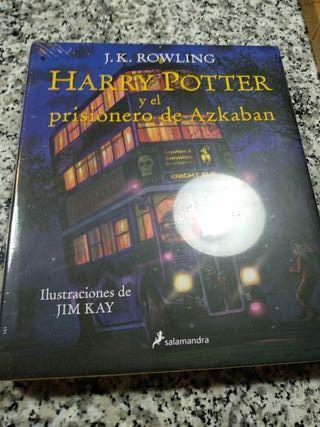 Libro Harry Potter Version Ilustrado