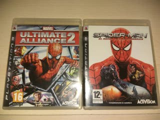 Ultimate Alliance 2 / Spiderman Web of Shadows PS3