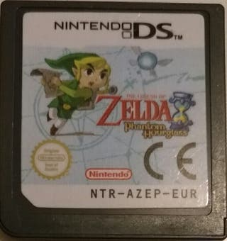 Juego DS - Zelda Phantom Hourglass