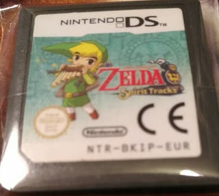 Juego DS - Zelda Spirit Track