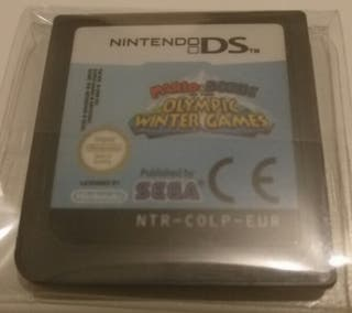 Juego DS - Mario & Sonic en los JJ.OO. de Invierno