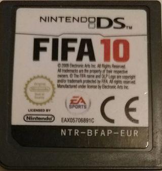 Juego DS - FIFA 10