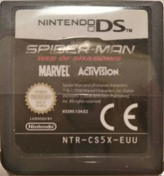 Juego DS - Spiderman el Reino de las Sombras