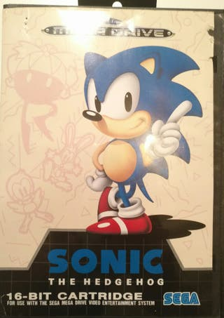 Juego Megadrive - Sonic The Hedgehod
