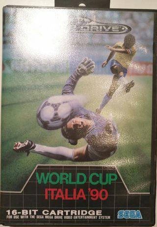 Juego Megadrive - World Cup Italia '90