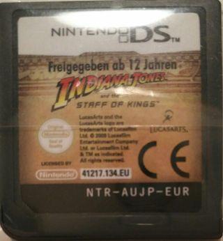 Juego DS - Indiana Jones El Cetro de los Reyes
