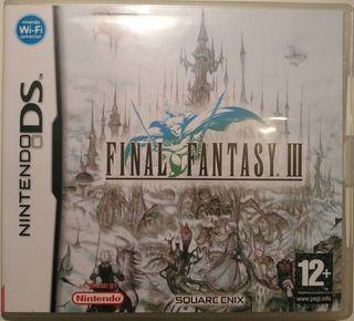 Juego DS - Final Fantasy III
