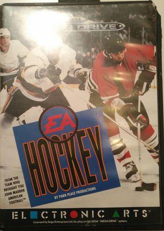Juego Megadrive - EA Hockey