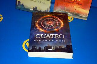 lote de 3 libros INSURGENCE-LEAL-CUATRO -rba