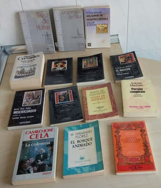 Libros de lectura de literatura