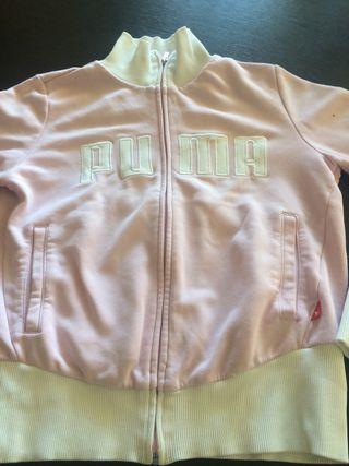 Chaqueta Segunda Mano Por S De T Blanca Puma 12 Rosa Y O8q7wFOr0