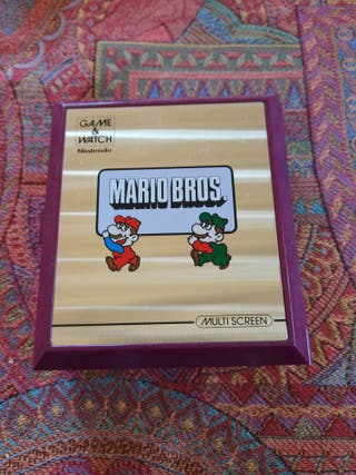 Consola Game & Watch Mario Bros