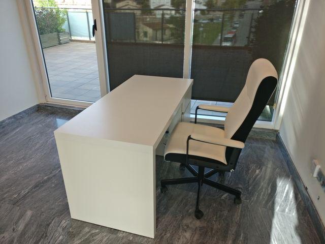 Ikea Mesas De Oficina. Ikea Oficina La Combinacin De Mesas Blancas ...