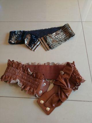 cinturones chica