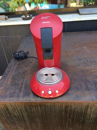 Cafetera Philips Senseo HD6555 XL rojo