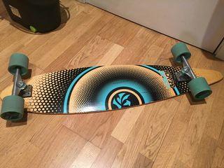 Skate longboard carver pintail