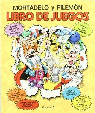 LIBRO DE JUEGOS MORTADELO Y FILEMÓN
