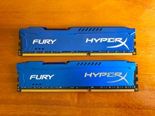 2 Kingston HyperX Fury DDR3