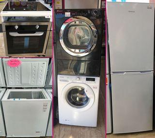 Electrodomésticos nuevos, tara y reacondicionados
