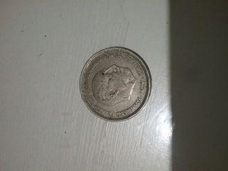 moneda de 50 pesetas de franco