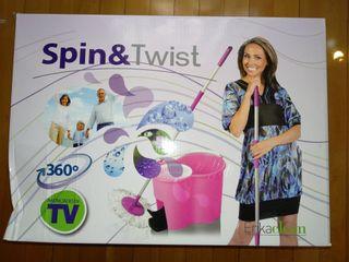 fregona giratoria Spin and twist