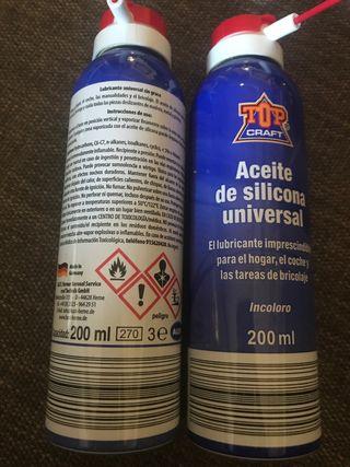 Spray de silicona para pesca