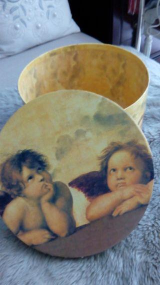 Caja grande angelitos Botticelli