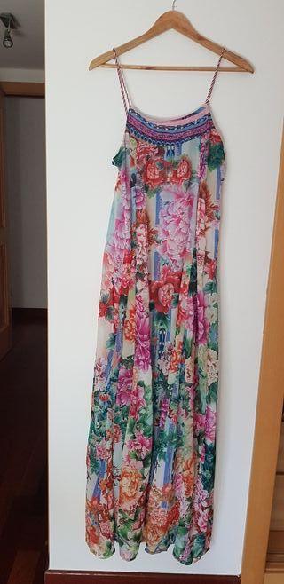 Vestido Maxi Flores