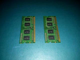 Memoria 4Gb 2x2Gb DDR3 10600S SO-DIMM PC y MAC