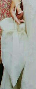 bolso blanco novia