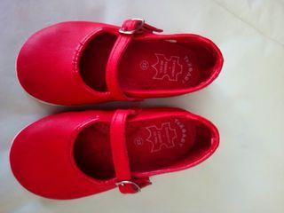 zapatos sandalias piel verano niña talla 23