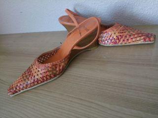 Zapatos mujer serpiente.