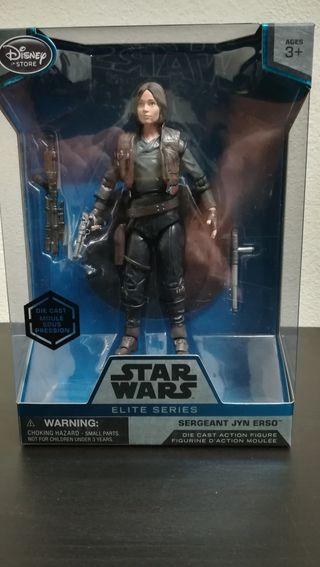 Figura Star Wars serie elite Sargento Jyn Erso