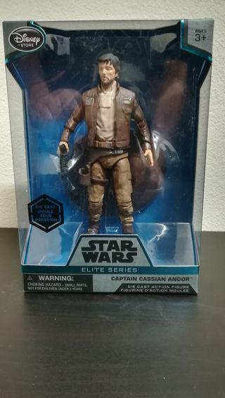 Figura Star Wars serie elite Capitan Cassian Andor