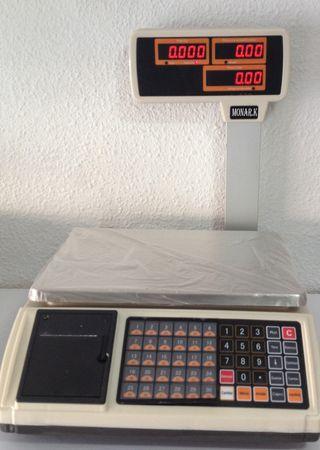 bascula ticket Nueva balanza peso mostrador