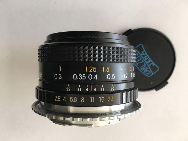 Lente Carl zeiss 28mm f2,8 macro de segunda mano por 130 € en Málaga