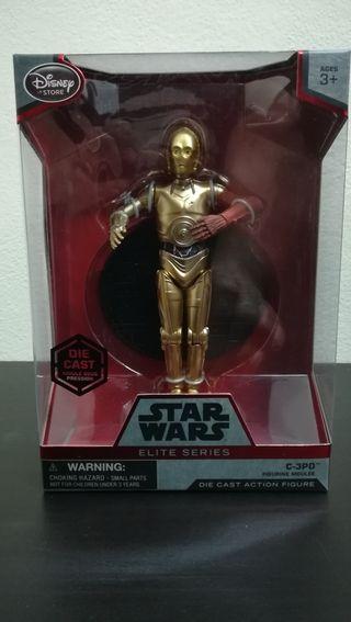 Figura Star Wars serie elite C3PO