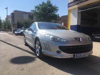 Peugeot 407 coupe 204cv en perfecto estado