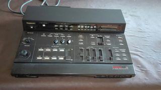 mesa de mezclas de sonido y video