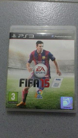 PS3 juego FIFA 15